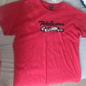 Vintage Polo Jeans Ralph Lauren T shirt
